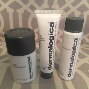 Dermalogica skin set. Contains travel sizes.